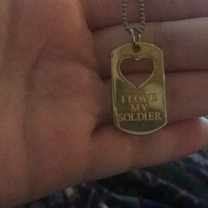 Jewelry - Dog tag Soldier Necklace